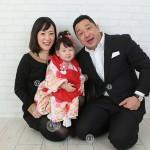 大阪の家族写真撮影スタジオ・ハニーアンドクランチのフォトギャラリーL086