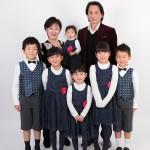 大阪の家族写真撮影スタジオ・ハニーアンドクランチのフォトギャラリーL087