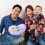 大阪の家族写真撮影スタジオ・ハニーアンドクランチのフォトギャラリーL088