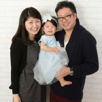 大阪の家族写真撮影スタジオ・ハニーアンドクランチのフォトギャラリーL089