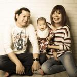 大阪の家族写真撮影スタジオ・ハニーアンドクランチのフォトギャラリーL096