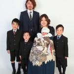 大阪の家族写真撮影スタジオ・ハニーアンドクランチのフォトギャラリーL099