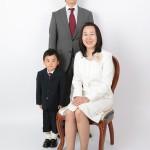 大阪の家族写真撮影スタジオ・ハニーアンドクランチのフォトギャラリーL100