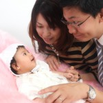 大阪の家族写真撮影スタジオ・ハニーアンドクランチのフォトギャラリーL104