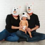 大阪の家族写真撮影スタジオ・ハニーアンドクランチのフォトギャラリーL106