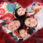 大阪の家族写真撮影スタジオ・ハニーアンドクランチのフォトギャラリーL113