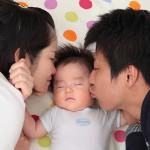 大阪の家族写真撮影スタジオ・ハニーアンドクランチのフォトギャラリーL119