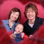 大阪の家族写真撮影スタジオ・ハニーアンドクランチのフォトギャラリーL120