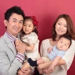 大阪の家族写真撮影スタジオ・ハニーアンドクランチのフォトギャラリーL124