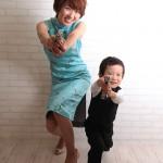 大阪の家族写真撮影スタジオ・ハニーアンドクランチのフォトギャラリーL126