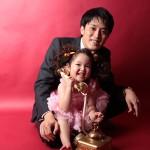 大阪の家族写真撮影スタジオ・ハニーアンドクランチのフォトギャラリーL128