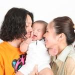 大阪の家族写真撮影スタジオ・ハニーアンドクランチのフォトギャラリーL129