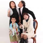 大阪の家族写真撮影スタジオ・ハニーアンドクランチのフォトギャラリーL130