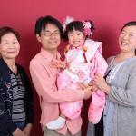 大阪の家族写真撮影スタジオ・ハニーアンドクランチのフォトギャラリーL137