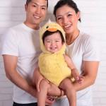 大阪の家族写真撮影スタジオ・ハニーアンドクランチのフォトギャラリーL140