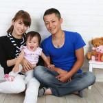 大阪の家族写真撮影スタジオ・ハニーアンドクランチのフォトギャラリーL144
