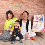 大阪の家族写真撮影スタジオ・ハニーアンドクランチのフォトギャラリーL149