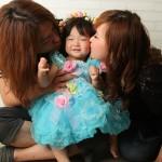 大阪の家族写真撮影スタジオ・ハニーアンドクランチのフォトギャラリーL152
