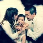大阪の家族写真撮影スタジオ・ハニーアンドクランチのフォトギャラリーL153