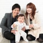 大阪の家族写真撮影スタジオ・ハニーアンドクランチのフォトギャラリーL154