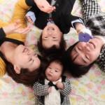大阪の家族写真撮影スタジオ・ハニーアンドクランチのフォトギャラリーL155