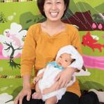 大阪の家族写真撮影スタジオ・ハニーアンドクランチのフォトギャラリーL162