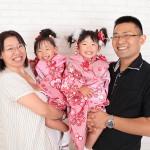 大阪の家族写真撮影スタジオ・ハニーアンドクランチのフォトギャラリーL166