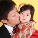 大阪の家族写真撮影スタジオ・ハニーアンドクランチのフォトギャラリーL167