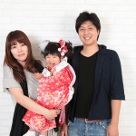 大阪の家族写真撮影スタジオ・ハニーアンドクランチのフォトギャラリーL170