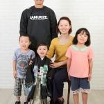 大阪の家族写真撮影スタジオ・ハニーアンドクランチのフォトギャラリーL172