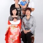大阪の家族写真撮影スタジオ・ハニーアンドクランチのフォトギャラリーL174