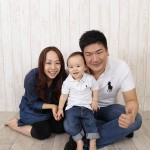 大阪の家族写真撮影スタジオ・ハニーアンドクランチのフォトギャラリーL176