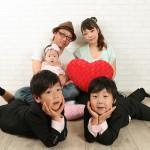 大阪の家族写真撮影スタジオ・ハニーアンドクランチのフォトギャラリーL178