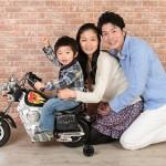 大阪の家族写真撮影スタジオ・ハニーアンドクランチのフォトギャラリーL188