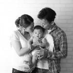 大阪の家族写真撮影スタジオ・ハニーアンドクランチのフォトギャラリーL194