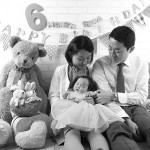 大阪の家族写真撮影スタジオ・ハニーアンドクランチのフォトギャラリーL199