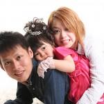 大阪の家族写真撮影スタジオ・ハニーアンドクランチのフォトギャラリーL202