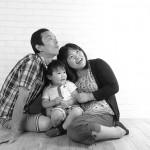 大阪の家族写真撮影スタジオ・ハニーアンドクランチのフォトギャラリーL203