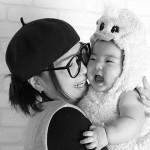 大阪の家族写真撮影スタジオ・ハニーアンドクランチのフォトギャラリーL209