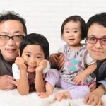 大阪の家族写真撮影スタジオ・ハニーアンドクランチのフォトギャラリーL210
