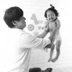 大阪の家族写真撮影スタジオ・ハニーアンドクランチのフォトギャラリーL212