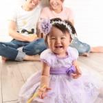 大阪の家族写真撮影スタジオ・ハニーアンドクランチのフォトギャラリーL215