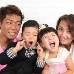 大阪の家族写真撮影スタジオ・ハニーアンドクランチのフォトギャラリーL217