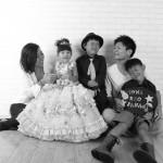 大阪の家族写真撮影スタジオ・ハニーアンドクランチのフォトギャラリーL219