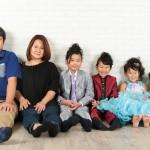 大阪の家族写真撮影スタジオ・ハニーアンドクランチのフォトギャラリーL220