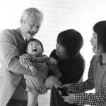大阪の家族写真撮影スタジオ・ハニーアンドクランチのフォトギャラリーL222