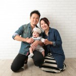 大阪の家族写真撮影スタジオ・ハニーアンドクランチのフォトギャラリーL226