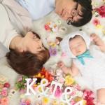 大阪の家族写真撮影スタジオ・ハニーアンドクランチのフォトギャラリーL227