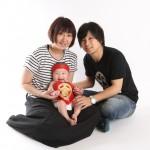 大阪の家族写真撮影スタジオ・ハニーアンドクランチのフォトギャラリーL228