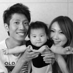 大阪の家族写真撮影スタジオ・ハニーアンドクランチのフォトギャラリーL230